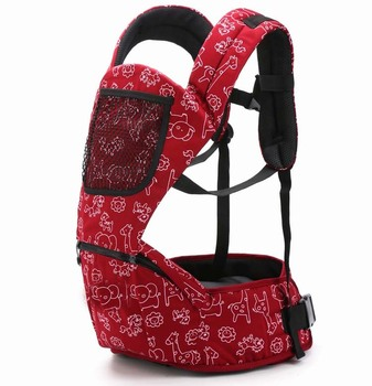 Animal Design Adjustable Cotton Baby Carrier