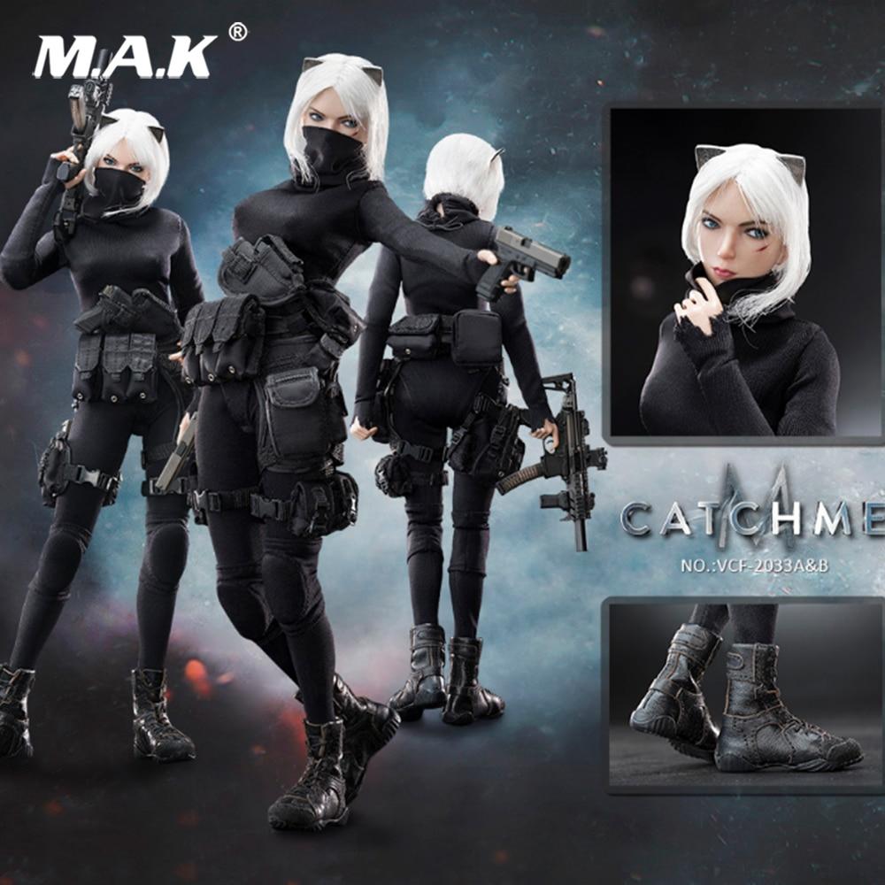 1:6 Échelle Militaire Soldats 1/6 Femme Assassin Série Première Bombe Me Rattraper ensemble complet figure jouet