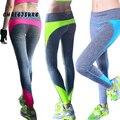 4 Colores S-XL Mujeres Moda Leggings Spandex Patchwork Push Up Cadera Leggings Adventure Time Entrenamiento Femme Legging de Las Mujeres