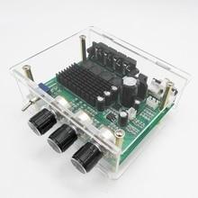 Dc 12v 24v tpa3116d2 80w * 2 amplificador estéreo placa de áudio tpa3116 amplificador digital subwoofer alto falante pré amplificador controle de tom