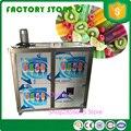 4 формы большой емкости машина для фруктового льда эскимо машина ледяное мороженое на палочке делая машину fpr продажа