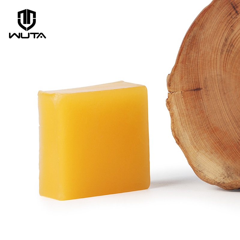 WUTA 1pcs 40g 50*50*20mm Large Size Leather Craft Smooth Wax Thread Line Wax Beeswax Sewing Supplies DIY Polishing Grinding Tool
