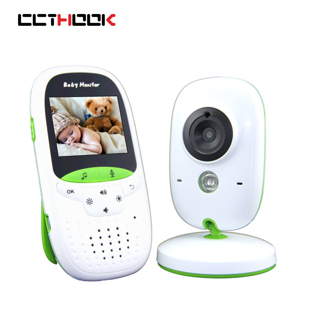 CCTHOOK Video Baby Monitor 2.4G Wireless with 2.4 Inches LCD 2 Way Audio Talk Night Vision Surveillance Security Camera 2017 new gift with uv lamp remote control lcd display automatic vacuum cleaner iclebo arte and smart camera baby pet monitor