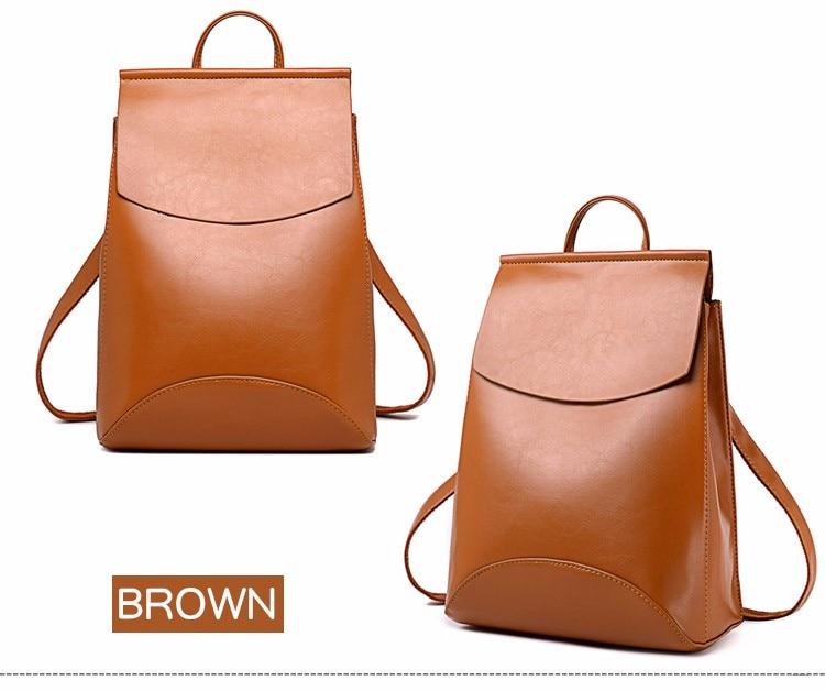 HTB17XicXAUmBKNjSZFOq6yb2XXab 2018 HOT Fashion Women Backpack High Quality PU Leather Backpacks for Teenage Girls Female School Shoulder Bag Bagpack mochila