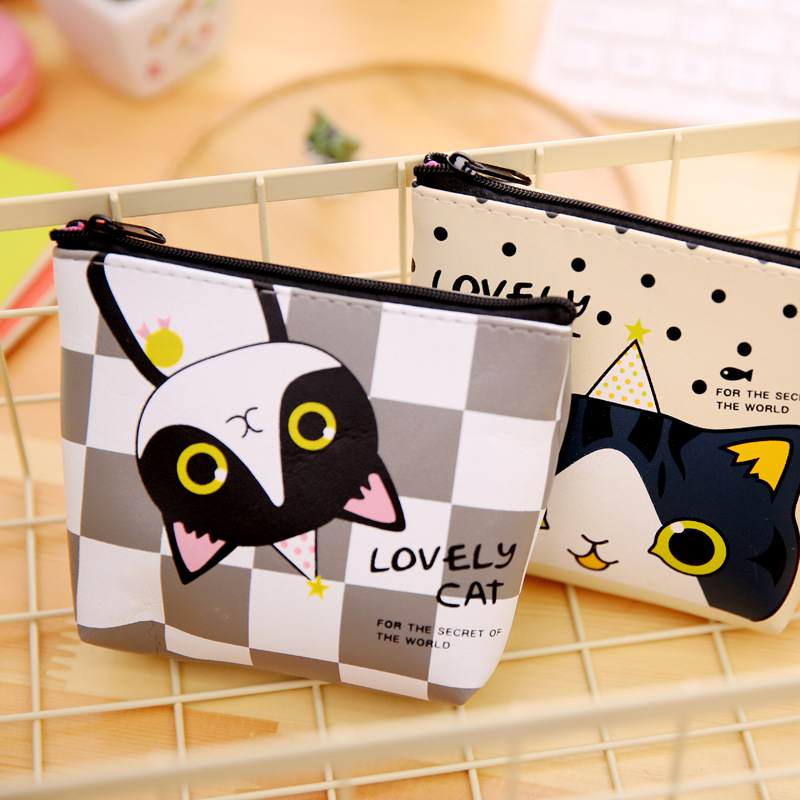 Image 2 - New Arrivals Creative Cartoon Kawaii Cute Fresh Fashion Lovely Cat Korean Style Rubber Coins Candy Storage Boxes SN26-in Storage Boxes & Bins from Home & Garden