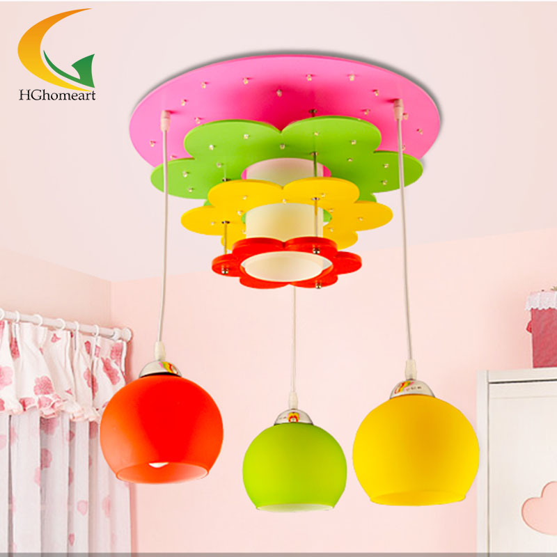 Children Lamp Creative Cartoon S Bedroom Lighting Ceiling Lights Kids Room E27 In From On Aliexpress