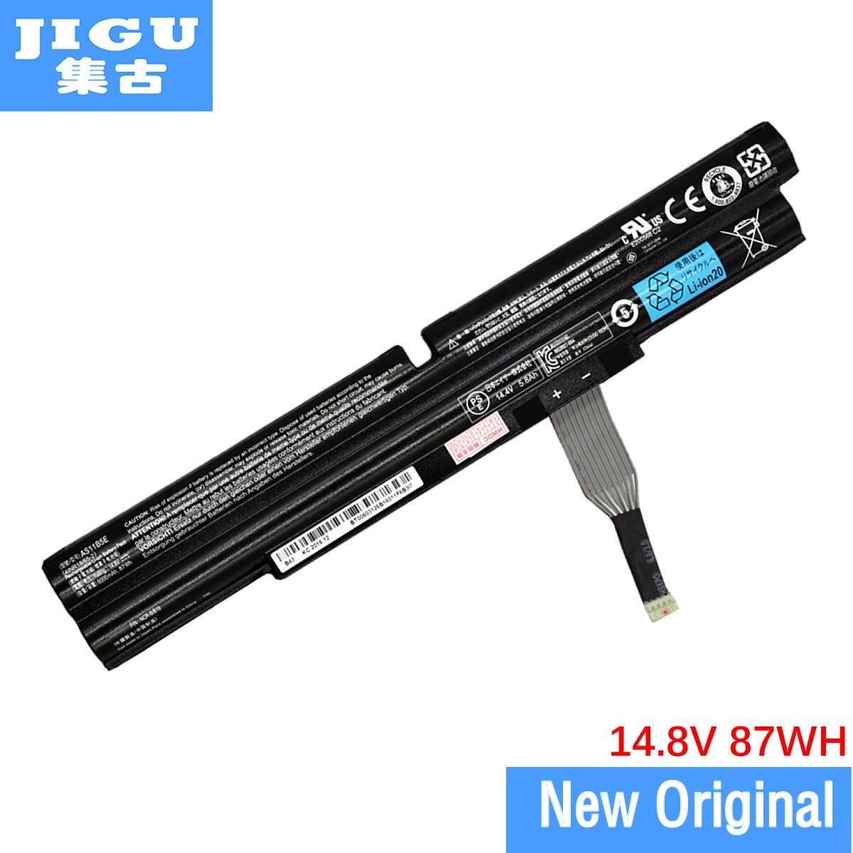 цена на JIGU AS11B5E Original Laptop Battery For Acer For Aspire Ethos 5951 8950 8951 5943G 5951G 8943G 8951G 14.8V 6000MAH 87WH