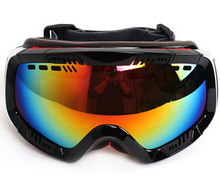 New 2017 POLISI Adult Ski Snowmobile Snow Anti Fog Goggles font b Sunglasses b font font