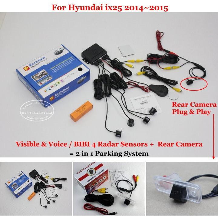 Hyundai ix25 2014~2015 parking system