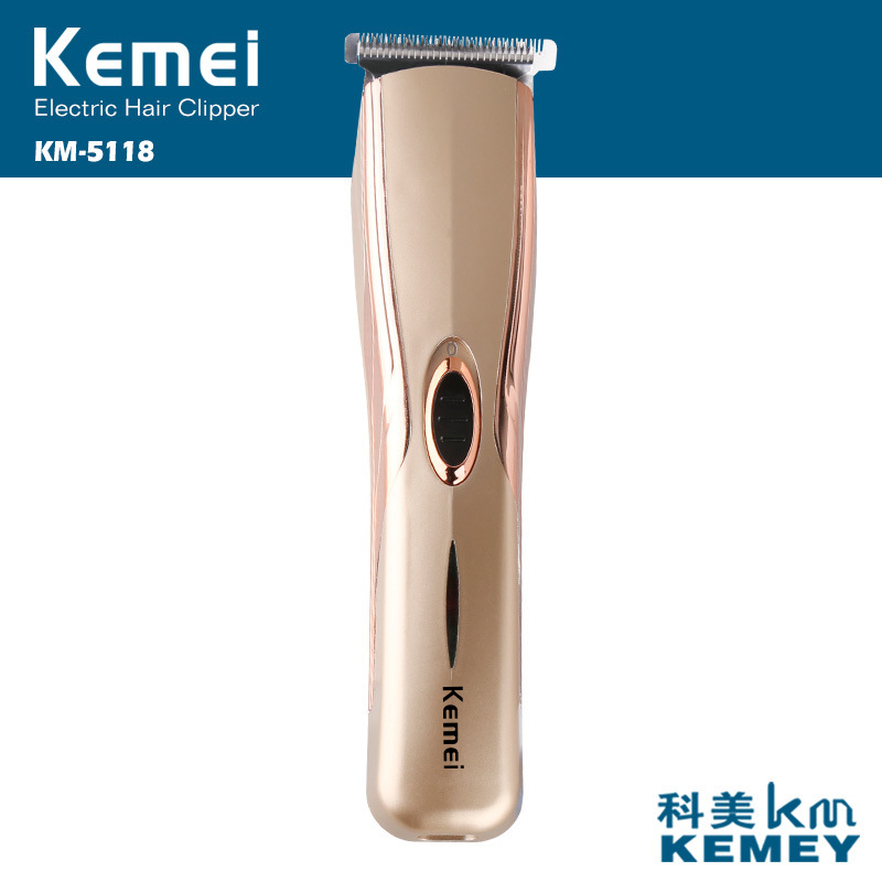 kemei rechargeable hair trimmer electric shaver clipper hair cutting beard trimmer styling tools hair shaving machine for man kemei 110v 240v kemei hair trimmer rechargeable electric clipper professional barber hair cutting beard shaving machine electr