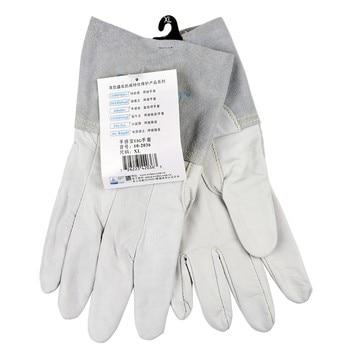 Leather Work Glove Welding Glove safety Glove Grain Goat TIG MIG  Welder Glove
