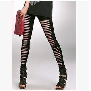 Femmes Livraison lot Casual Coréenne Rapide Et Leggings 50 Trous Fedex Fille Pcs Printemps Gratuite Irrégulière Automne Mode 4xqAcgw