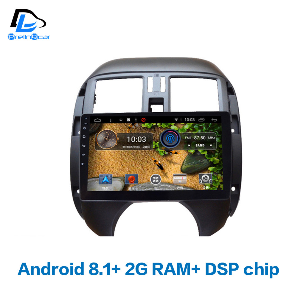 4G LTE Android 8 1 car gps multimedia video font b radio b font player in