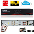 SUNCHAN 1080N AHD DVR CCTV Digital Video Recorder 4Channel AHD DVR NVR Video Surveillance System for 720P/960P/1080P AHD Cameras