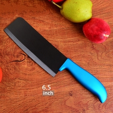 new black ceramic knife 6.5 inch chef slicing carving