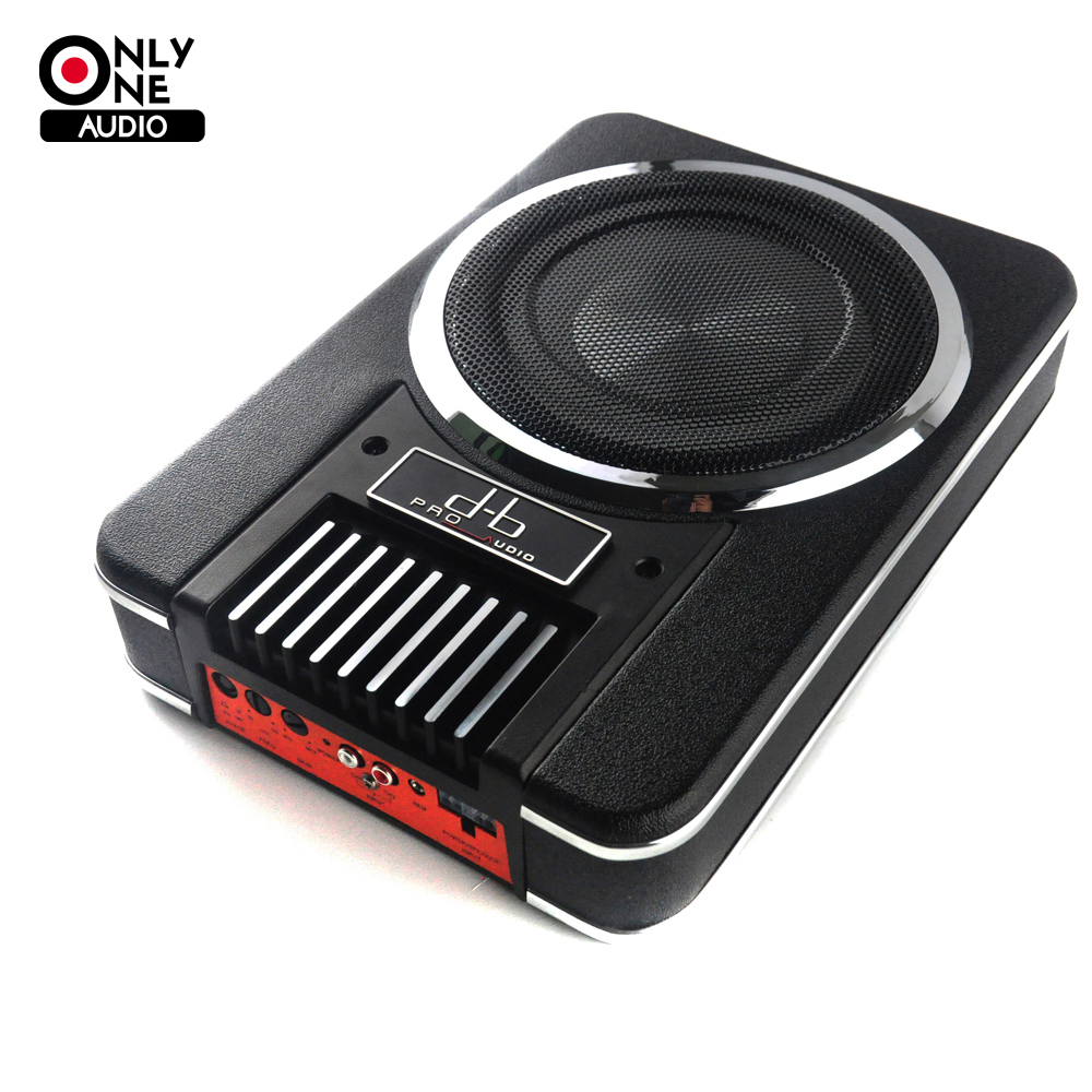 Only one audio brand new pro udio db 826 8 inch car audio active subwoofers maximum power 200w high power car subwoofer in enclosed subwoofer systems from