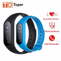 Toper Y2 Plus Smart Band Watch Pulse Heart Rate Blood Pressure Sleep Monitor Smart Bracelet Fitness
