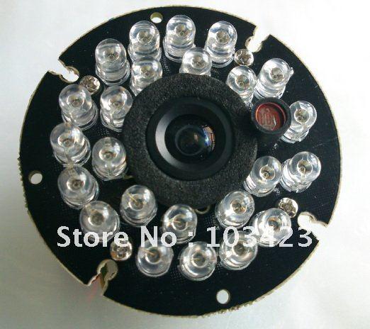 PC1089K Module with 3.6mm Lens, 24IR Light Board, IR-Cutter