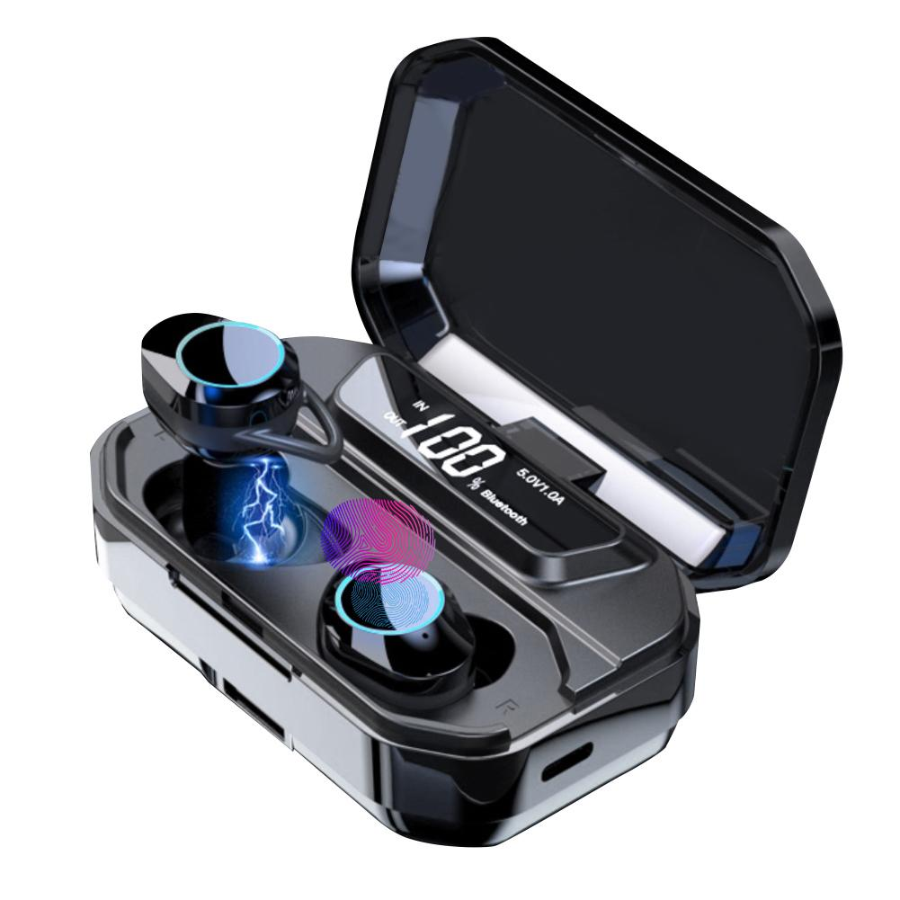 Ipx6 étanche T5 mis à niveau TWS écouteurs sans fil écouteurs Bluetooth 5.0 soutien 36 h temps de jeu pour IPhone Samsung