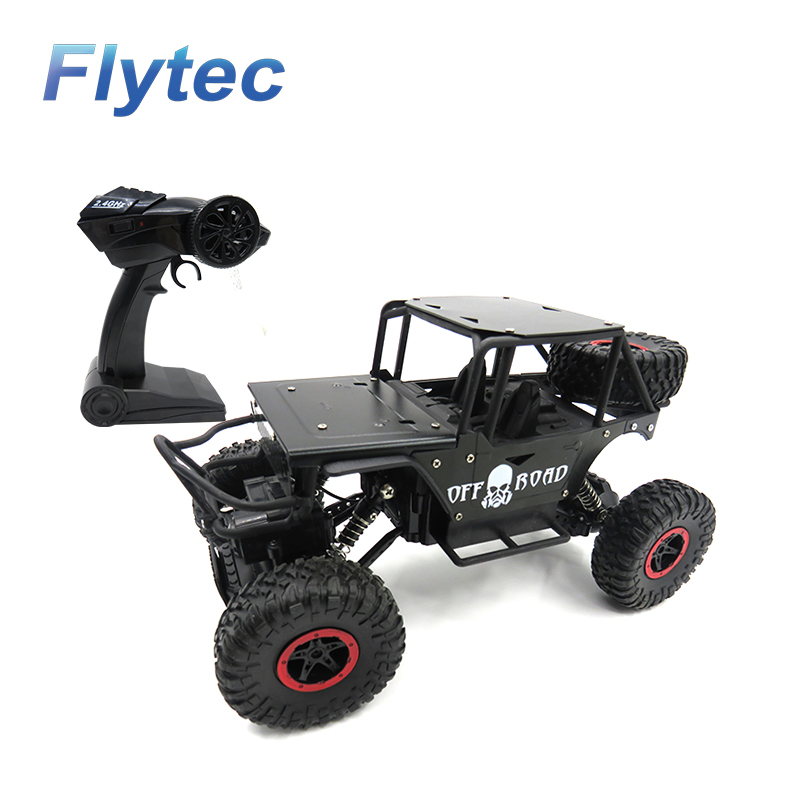 Flytec 699 1 18 2 4G 4CH Alloy Climber 4WD Off road Drift RC Car as