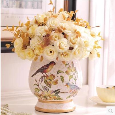 Keybox Ceramic Vase Creative Home Decorative Arts And Crafts