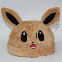 1 Piece New Cosply Wear Anime Pokemon Pikachu Hat Bonnet Women Men Plush Elf Cap Cartoon Cute Beanie Hats Kids Toys Gift 65AA511