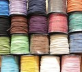 Velvet Leather Cord String Rope Beading Thread 100Yards Mixed Color 3mm Flat Faux Suede Korean Lace DIY Jewelry Findings