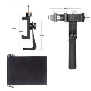 Image 5 - MINI สมาร์ทโฟน Hand Grip ผู้ถือโทรศัพท์มือถือ Stabilizer คลิป Selfie Stick CLAMP Adapter สำหรับ iPhone 11 XS MAX XR Samsung s10