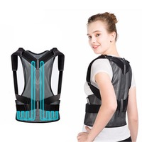 1Pcs Inflatable Comfort Posture Corrector Clavicle and Shoulder Support Back Brace Upper and Lower Back Pain Relief Thoracic