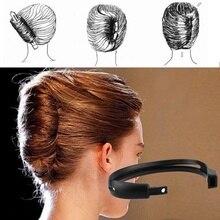 2 шт./компл., для женщин, формальный, сделай сам, для укладки волос, Updo Donut Bun, зажим, инструмент, формальный, французский, для выкручивания, держ...