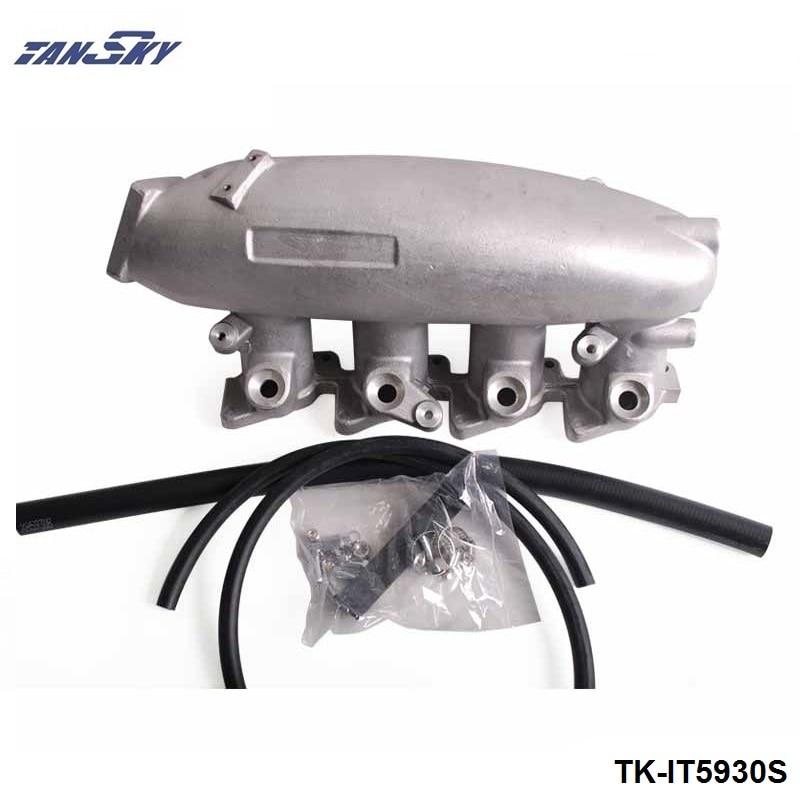 TANSKY - Engine Swap Turbo Intake Manifold For Nissan SR20 S13 High Performance  TK-IT5930S epman for mitsubishi evo 1 3 cast aluminum turbo intake manifold polished jdm high performance ep it5941
