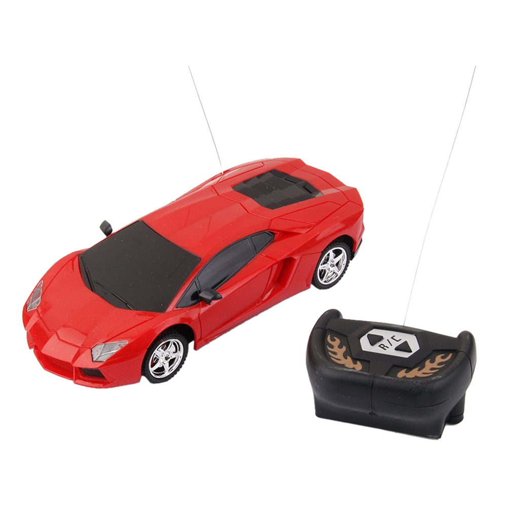 1:24 Electric RC Remote Controlled Car Children Toy Model Car Gift Red radio-controlled car
