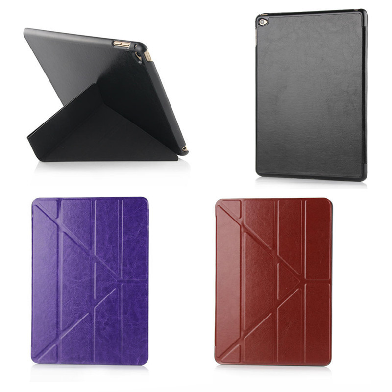 Magic Stand Smart Case For iPad Air 2 Cover Stand Tablet Designer Ultra thin pu Leather Cover For Apple iPad 6 ipad air2 Case