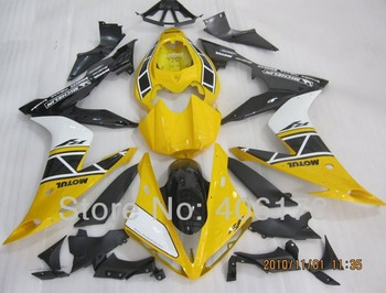 Yzf1000 R1 04 05 06 fairing kit For Yzf R1 2004 2005 2006 Bike Yellow and Black Fairings (Injection molding)