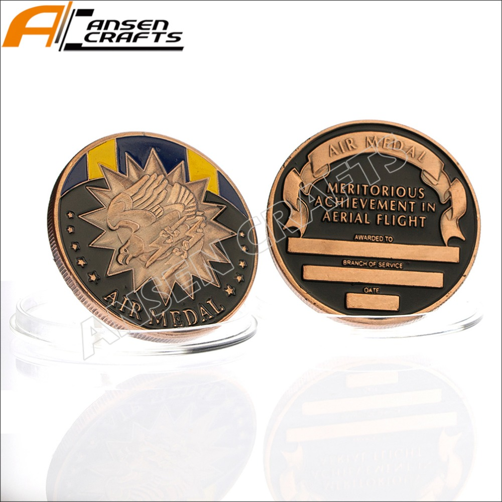 The Air Medal Challenge Coin