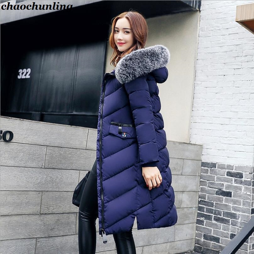 Korean Fashion 2017 New Winter Lady Thick Warm Jackets Women Self-cultivation Super Warm Hooded Down Jacket With Hair Collar 2017 winter down jacket male korean version of self cultivation hooded thick in the long fashion trend of youth style downjacket