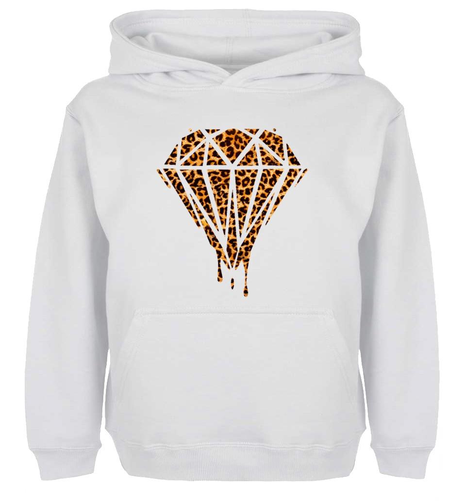 Unisex Fashion Bleeding Melting Dripping Galaxy Diamond Leopard Design Hoodie Mens Boys Women Girls Sweatshirt Printed Hoody