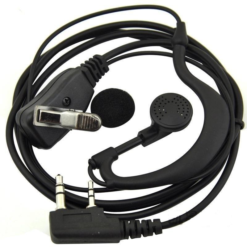 imágenes para Original Kirisun K1 enchufe g-shape Auricular del gancho Del oído/Auriculares para Todo tipo de radios de dos vías con K1 tapón Sólido de calidad y Buen precio