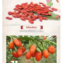 New Arrival Goji berry Chinese Wolfberry 100g Medlar in Bulk  the herbal tea Grade A Health Tea Bag Berries Gouqi