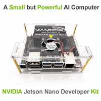 NVIDIA-Kit de desarrollo de Inteligencia Artificial Jetson Nano a02, para aprendizaje profundo de inteligencia artificial, compatible con PyTorch, TensorFlow y Caffe