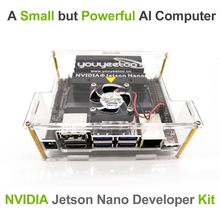 NVIDIA Jetson Nano Kit de Développement pour Artiticial L'intelligence Deep Learning AI Informatique, Soutien PyTorch, TensorFlow et Caffe(China)