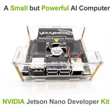 NVIDIA Jetson Nano a02revelador Kit para inteligencia Artiticial Deep Learning ia Computing, soporte PyTorch, TensorFlow y Caffe