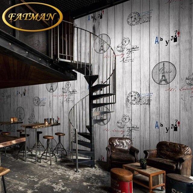 Custom 3D photo wallpaper 3D Vintage Black white mural living room sofa coffee house bar bedroom wallpaper mural