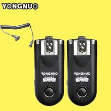 YONGNUO RF-603 II C3 Радио Беспроводной Пульт Дистанционного Запуска Вспышки для Canon 1D 1DS 5D Mark II III 1DX 6D 5D 7D 50D 40D 30D 20D 10D