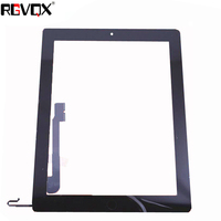 NEW Touch Screen Digitizer For IPad 4 A1458 A1459 A1460 TP IC With Home Button And