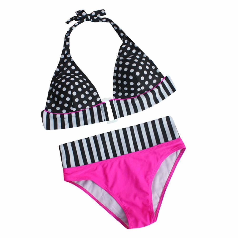 2019 grande taille Bikini taille haute maillots de bain femmes Monokini Maillot de bain Trikini Maio Biquini Mujer Banador Badpak Maillot femme # YL5