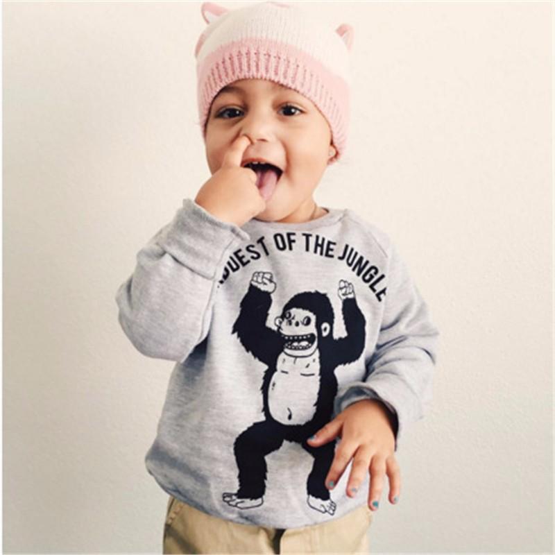 13For Boys Girls Sweater T-Shirts Clothes Autumn Winter New Panda Bear Printing Tops Kids Sweatershirt  Tees Clothing Full Sleeve 5