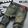 Pantalones Hombre Vaqueros Men Jeans Pants Slim Fit Robin Biker Jeans Mens Denim Joggers Skinny Jeans Homme  1293