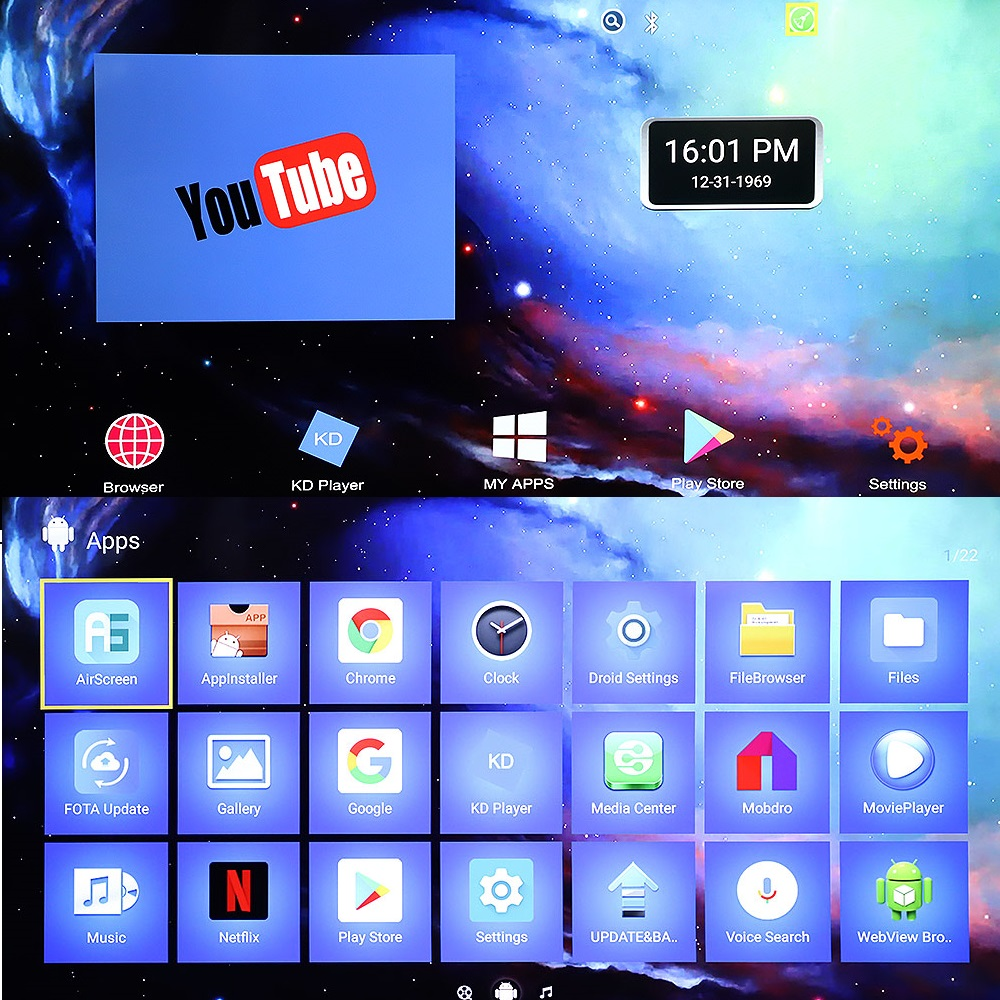 TV Stick Android 8.1X96 S 4GB 32GB Amlogic S905Y2 Quad Core 4K 2.4G & 5GHz double Wifi Bluetooth 4.2 1080P H.265 TV Stick Android TV - 5