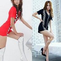 Women Car Models Racing Suits Nightclubs Uniform Temptation Pole Dancing Lead Dancer Clothing